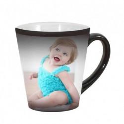 Чаша конус магическа (чашата е черна, при наливане на топла течност се появява снимката)