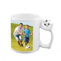 Чаша с футболна топка 330мл.