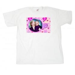 Тениска с рамка №12 размери S.M. L. XL. XXL