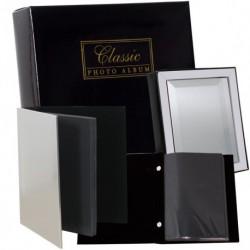 Албум 40 сн. ф-т 10/15 Лукс кутия метал,кадифе,черни страници