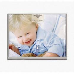 Silver frame stand horizontal 13/18cm.