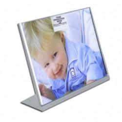 Silver frame stand horizontal 15/20cm.