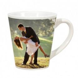 White mug cone
