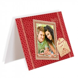 Card with a picture / double sided / 10x15 cm.
