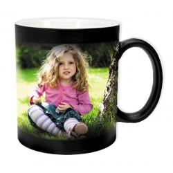 Magic mug 300ml (mug is black when pouring hot liquid appears photo)