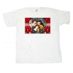 Тениска с рамка №6 размери S.M. L. XL. XXL.