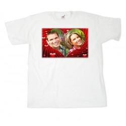 Тениска с рамка №13 размери S.M. L. XL. XXL.