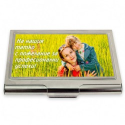 Business card holder 6/9 cm