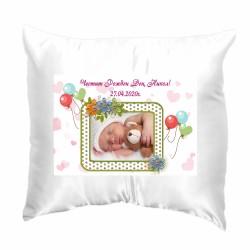 Възглавница с рамка  Честит Рожден Ден 33х33 см
