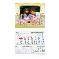 Работен календар с рамка 29/53см